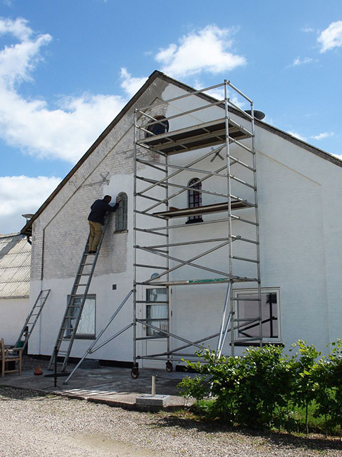 Exterior House Painting White